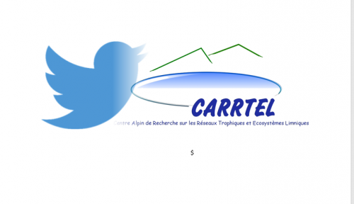 l'UMR CARRTEL a son compte twitter !