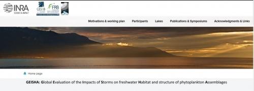 Le projet GEISHA-Stormblitz a son site web !