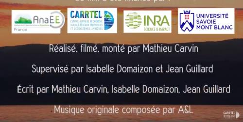 Observatoire des LAcs OLA (UMR CARRTEL INRA USMB) : le film