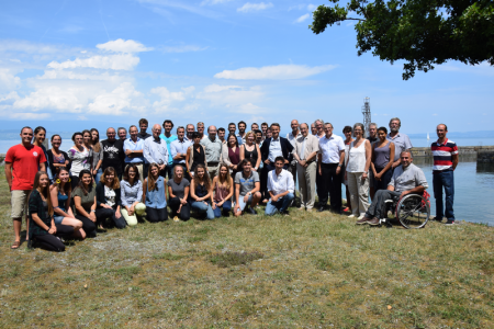 Visite du DG de l'INRA , Philippe Mauguin, au CARRTEL ce vendredi 21 juillet 2017.