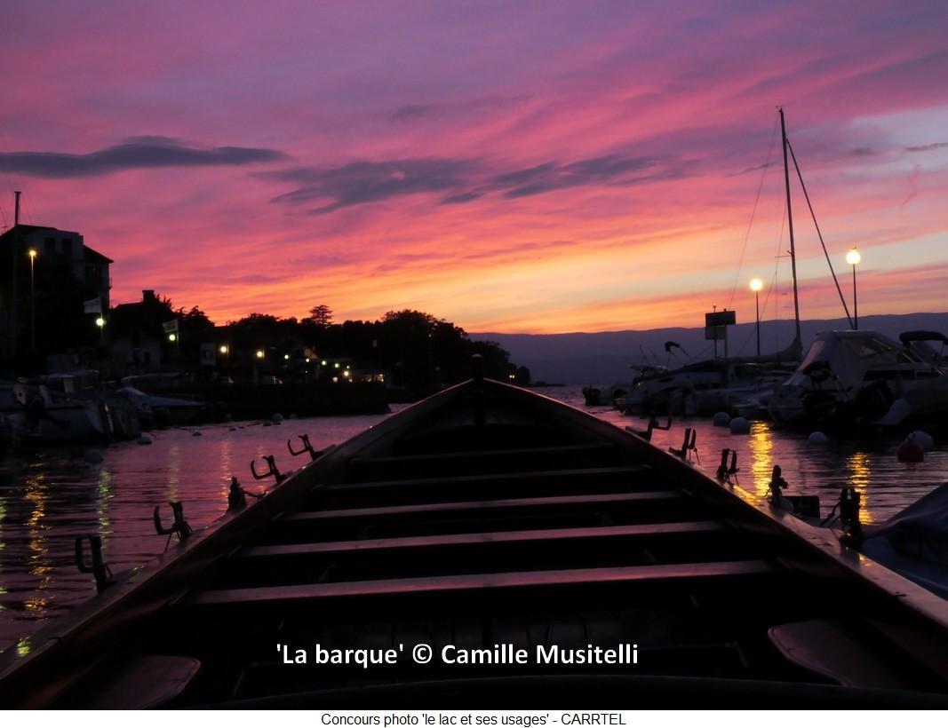 'La barque' © Camille Musitelli