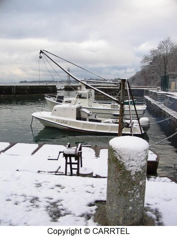 winter on the harbor