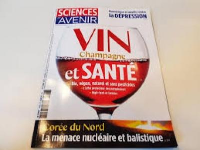 Couverture du numéro 848 de Sciences et Avenir