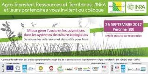 Colloque Enbio-Agri-Bio